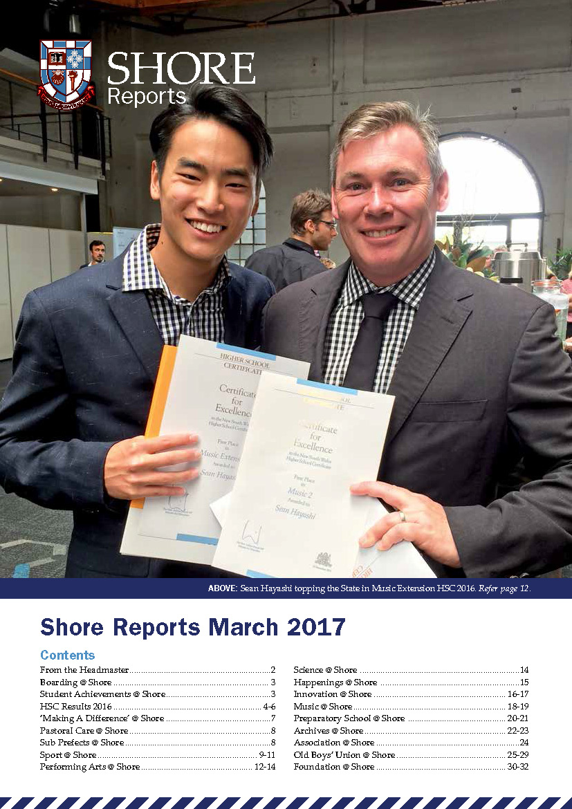 Shore Reports_March2017 cover