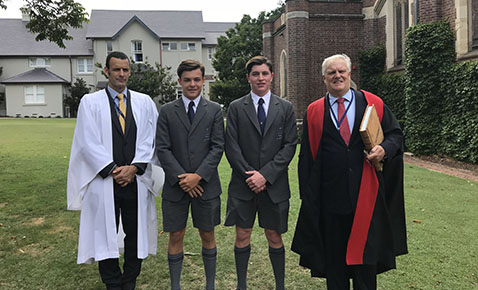 Senior Prefects Induction 2018 news