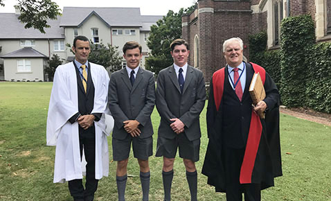 Senior Prefects Induction 2018 news1