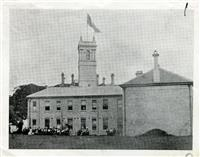 School buildings from the lawn, 1890