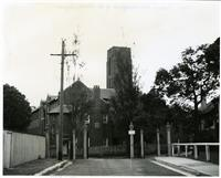 School House Building and front gates 1940