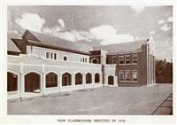 New classrooms, western wing, 1938