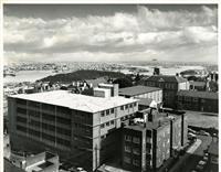 School buildings looking west from AMP building 1964