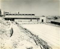 Swimming pool under construction 1970