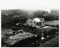 Upton Grange as a residence 1880