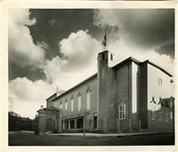 War Memorial Hall, c1955