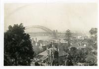 View of Sydney Harbour c1940