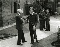 Mr RGH Walmsley and MM Helsham c1938