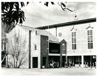 War Memorial Hall and middle block 1987