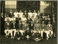 Masters and rowers 1927