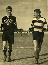 Old Boys rugby match, 1937
