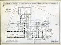 Plans of renovated School House building 1934