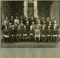 Headmaster conference at Shore 1933