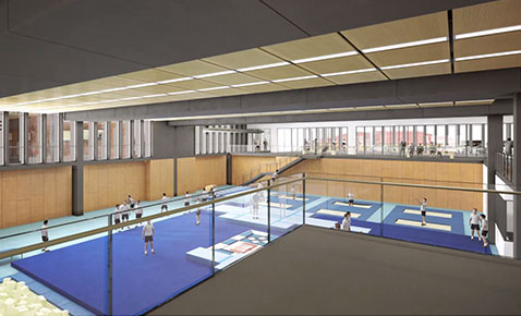 SPEC Gym CG - communications tile